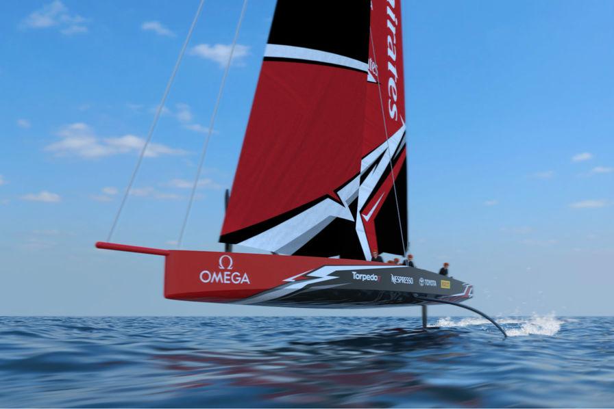 Image De Bateau vidéo] le futur bateau de la coupe de l'america sera un monocoque