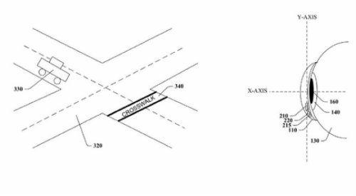 Si une personne malvoyante s approche d un passage piéton, un système relié  à la lentille pourrait lui signaler si le feu est vert ou rouge. 434fa19fb78a