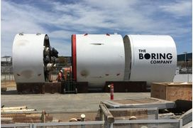[En images] Elon Musk partage une photo du premier tunnel de The Boring Company