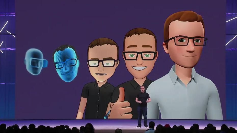 Facebook avatar VR Oculus Ouest MEDIAS