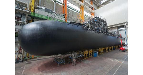 La France s'équipe de nouveaux sous-marins nucléaires