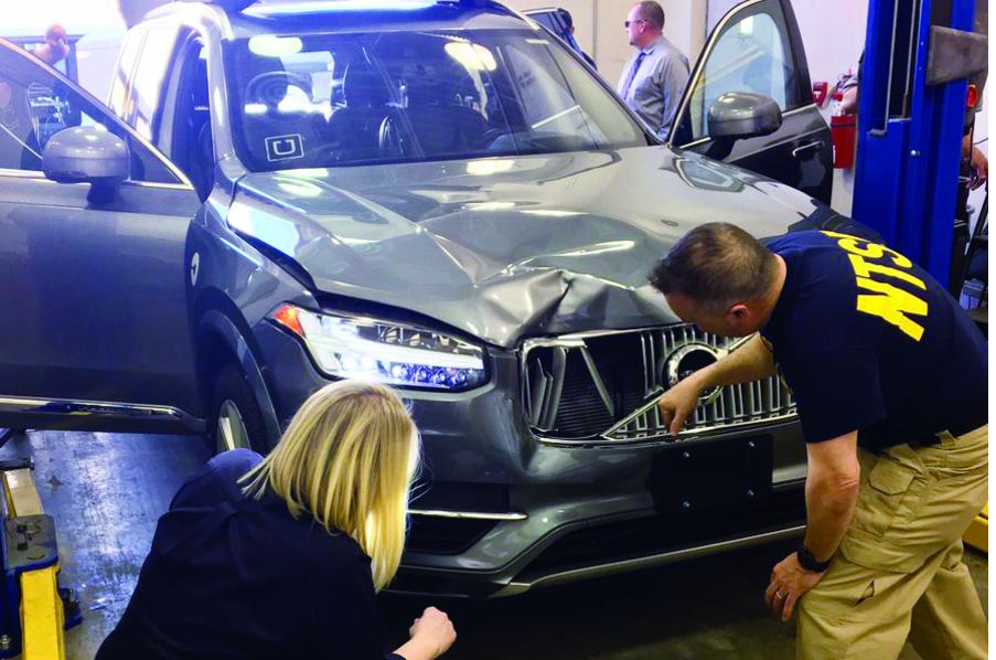 accident mortel avec une voiture autonome innovations auto. Black Bedroom Furniture Sets. Home Design Ideas