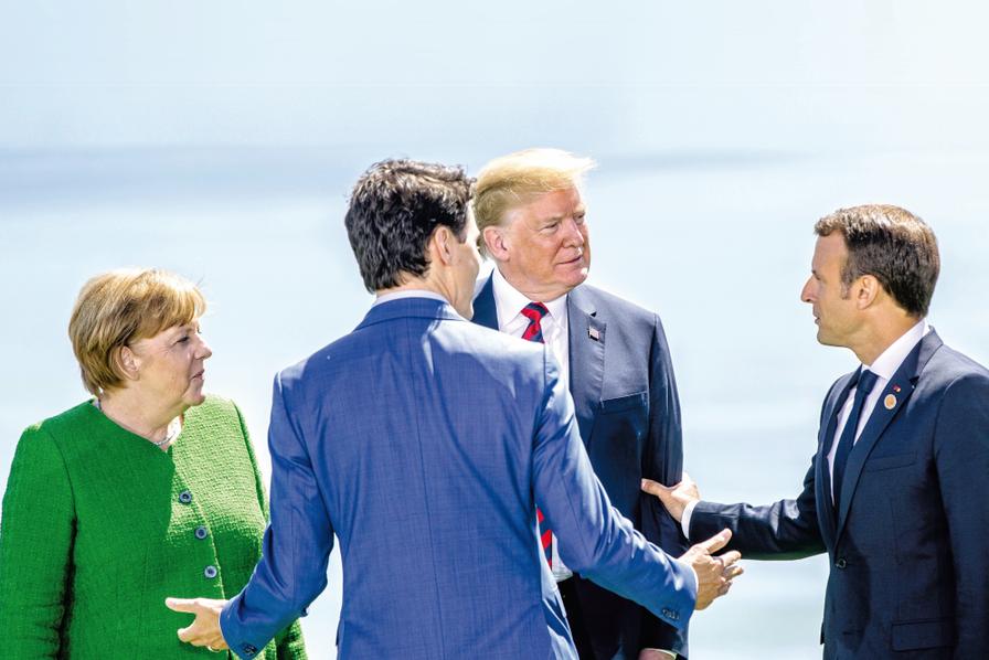 L'Union européenne passe à l'offensive — Guerre commerciale