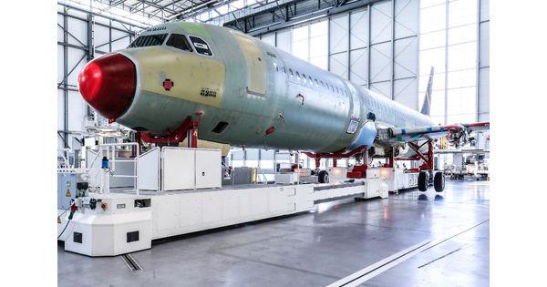 Airbus pourrait produire 67 A320 par mois en 2023 - L'Usine Aéro