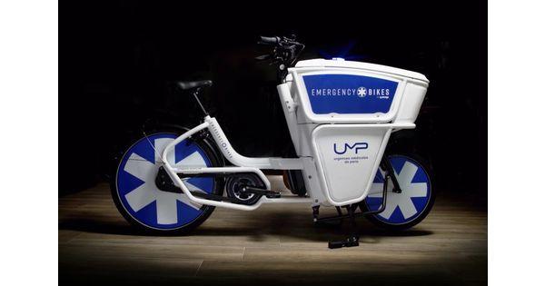 [L'industrie c'est fou] La Ville de Paris expérimente des vélos électriques pour ses urgentistes