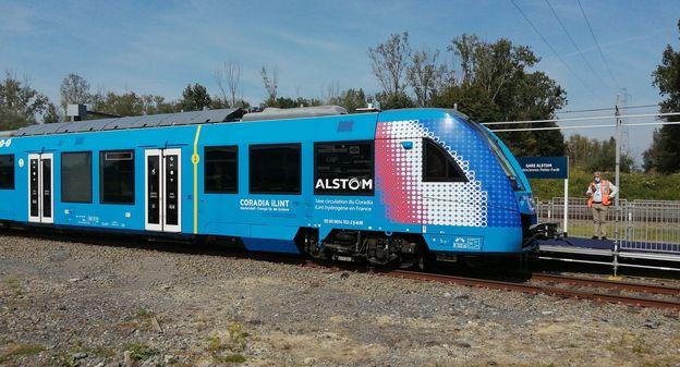 Premiers pas du train à hydrogène en France