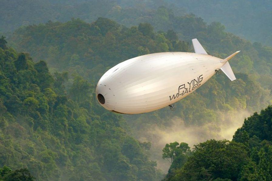Flying Whales, le dirigeable qui envoie du bois