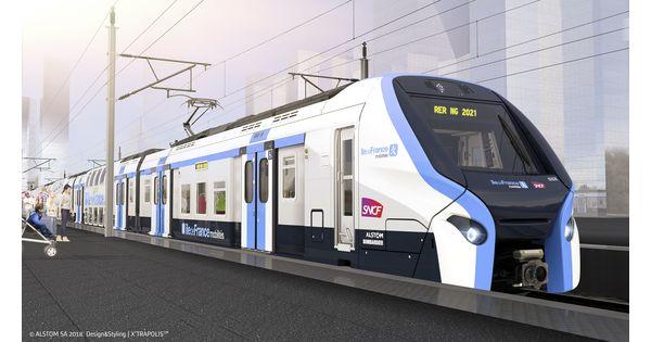 Pour le RER NG, Alstom et Bombardier ne seront peut-être pas à l'heure