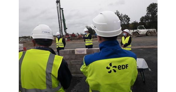 Un pilote industriel pour démanteler les réacteurs graphite gaz d'EDF à Chinon