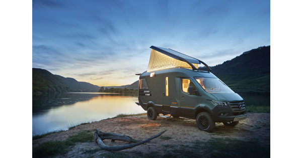 [En images] L'allemand Hymer imagine le camping-car du futur