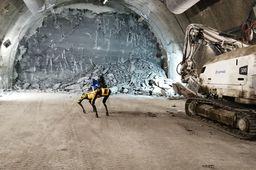 [L'instant tech] A Bure, l'Andra utilise un robot Boston Dynamics pour numériser les galeries d'enfouissement des déchets nucléaires