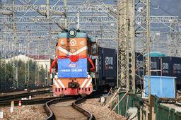 Le premier train de fret reliant la Chines à Londres est parti de Yiwu le 1er janvier