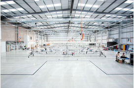 [En images] Airbus inaugure un centre de production pour le drone-satellite Zephyr