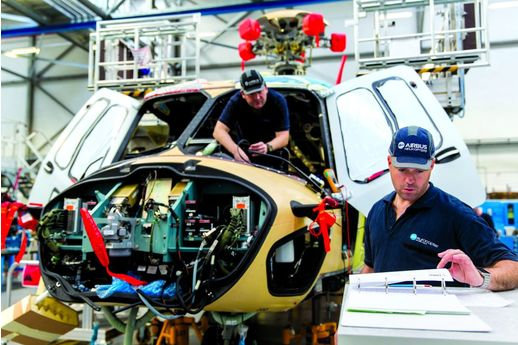Airbus Helicopters supprime 582 postes en France