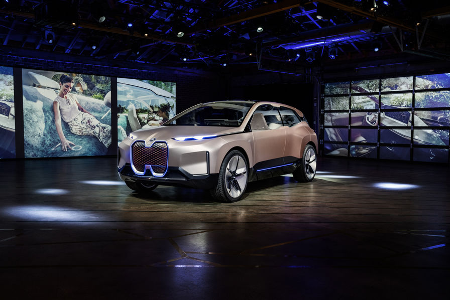 [En images] BMW Vision iNext, le concept car qui camoufle ses technologies