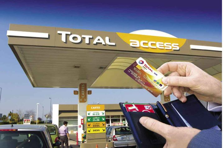 total access carte fidelite Les avantages de la carte essence professionnelle Total GR   Les