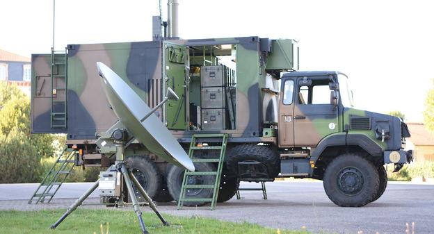 Comment Thales va sécuriser les communications satellitaires des armées françaises - L'Usine Nouvelle