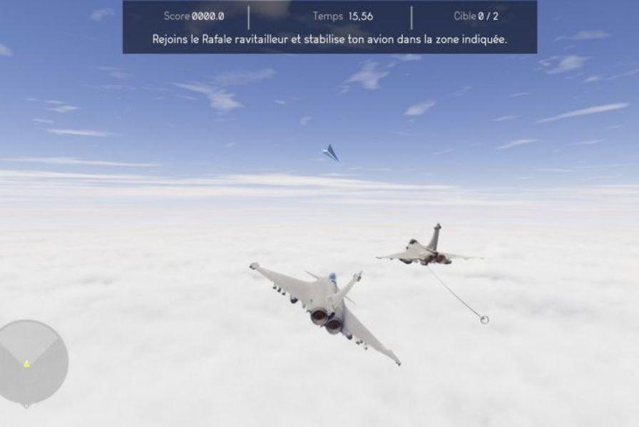 Pilotez Un Avion De Combat Rafale Avec Le Jeu Vidéo De Dassault Aviation