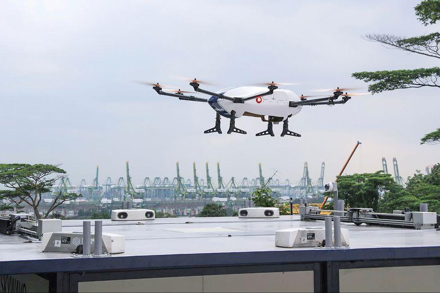 l 39 industrie c 39 est fou airbus fait voler son drone de livraison skyways l 39 industrie c 39 est fou. Black Bedroom Furniture Sets. Home Design Ideas