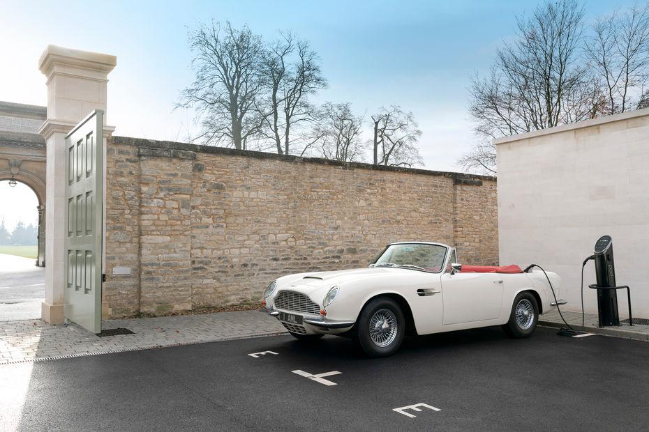 Aston Martin : des anciennes transformées en électriques