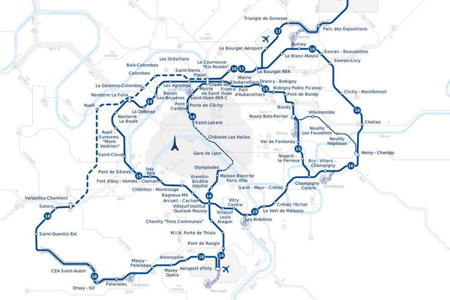 958c95b6ab011 Le Grand Paris Express affichera des retards sur plusieurs tronçons ...