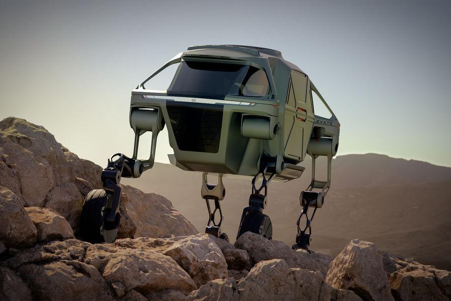 Hyundai dévoile à Las Vegas une voiture qui