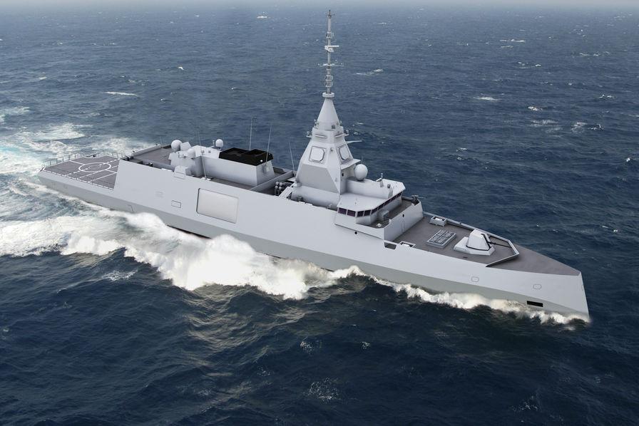 Notification du ministère de la Défense pour cinq frégates — THALES