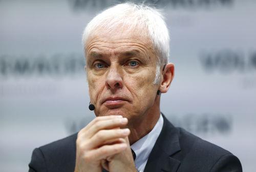 Vers le départ du P-dg de Volkswagen Matthias Müller