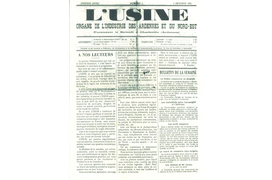 [Industry Story] Il y a 125 ans ...
