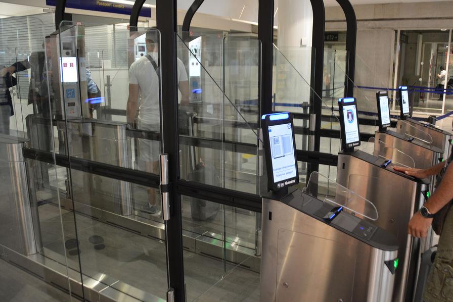 L'aéroport de Nice Côte d'Azur inaugure le contrôle par reconnaissance faciale
