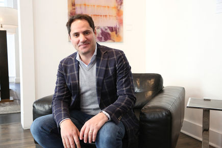 Il promeut les start-up à New York : Paul Strachman, associé, Isai