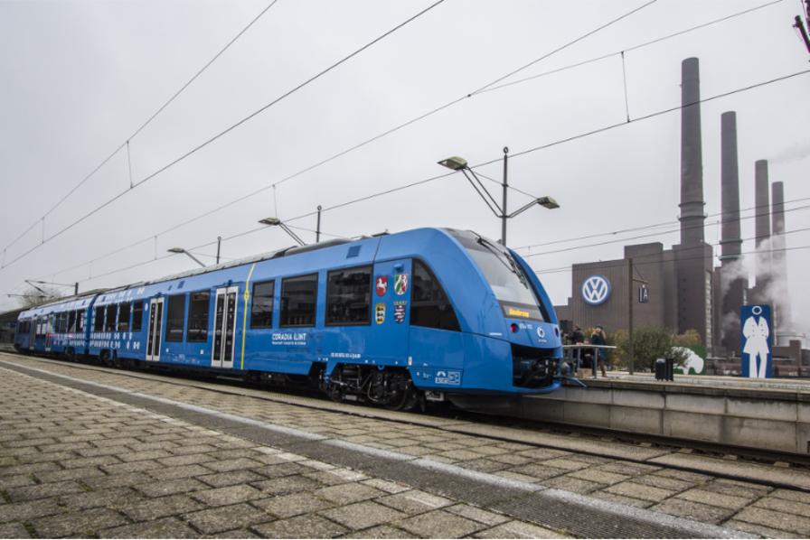 Le train à hydrogène entre en service en Allemagne
