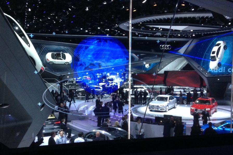 Le salon de francfort iaa 2015 en un coup d il - Le plus grand salon automobile du monde ...