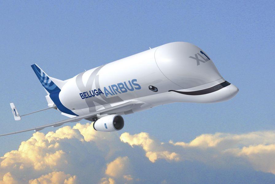 Le smiling beluga xl la version du nouveau gros porteur for Interieur 747 cargo