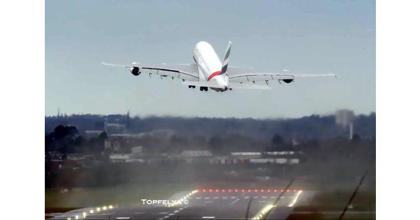 [Vidéo] Décollages et atterrissages d'avions périlleux durant la tempête Ciara en Europe - L'Usine Aéro