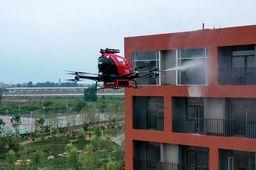 EHang, voiture drone pompier