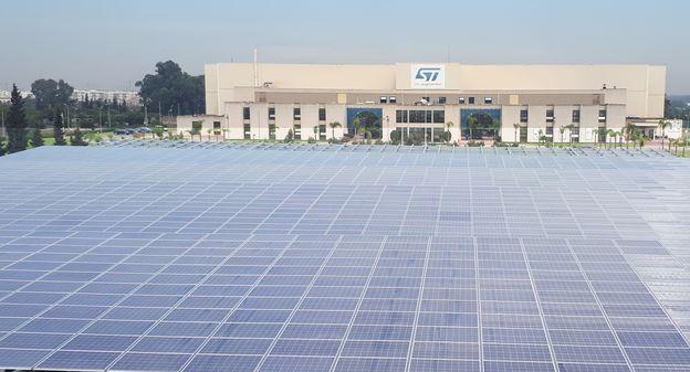 STMicroelectronics adhère à l'objectif de 100 % d'énergies renouvelables de son client Apple