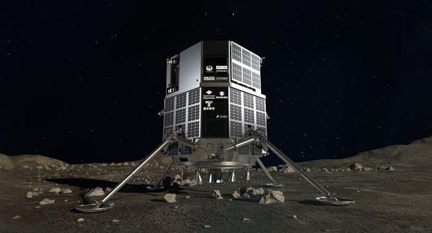 [La France signe son retour sur la Lune en montant à bord du rover des Émirats arabes unis] - Usine Nouvelle
