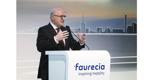 Faurecia se transforme pour continuer à échapper au marasme de l'automobile - L'Usine Auto