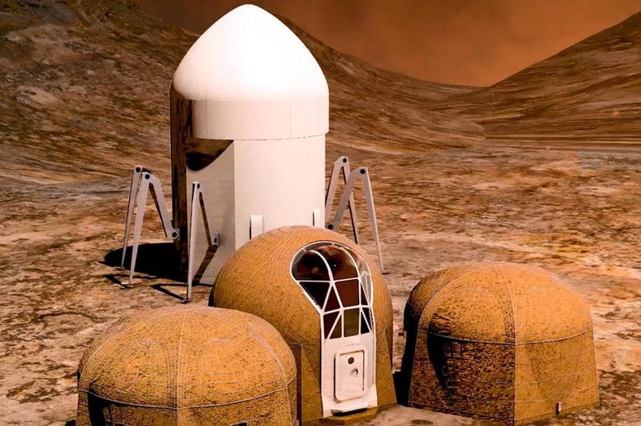 Voici à quoi ressembleront les maisons sur la planète Mars
