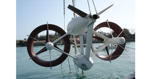 Qui se cache derrière la start-up de l'hydrolien Blue Shark Power System?