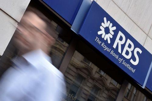 Versement d'une amende aux Etats-Unis — RBS