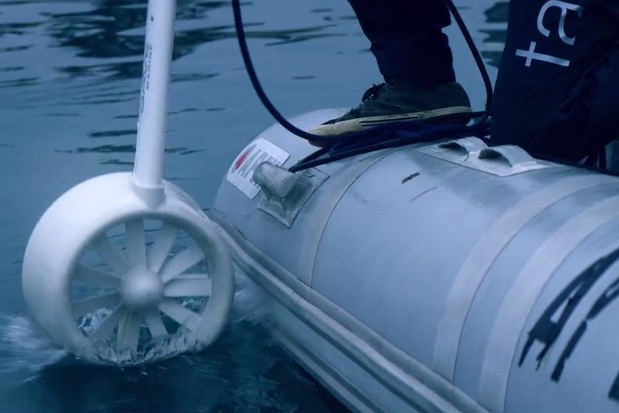 L'énergie de l'océan utilisée pour financer des recherches