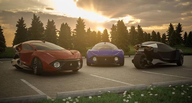 [L'industrie c'est fou] Au Canada, Daymak veut construire une voiture électrique à trois roues