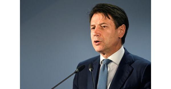 "Giuseppe Conte dénonce le projet ""inacceptable"" d'ArcelorMittal en Italie"