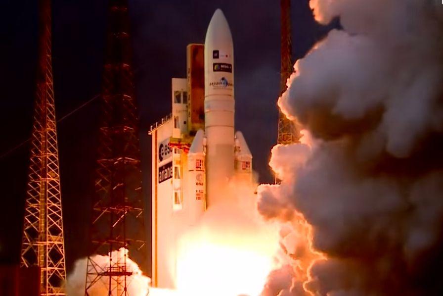 Calendrier Lancement Ariane 2019.Video Le Lancement Retarde D Ariane 5 A Finalement Eu Lieu