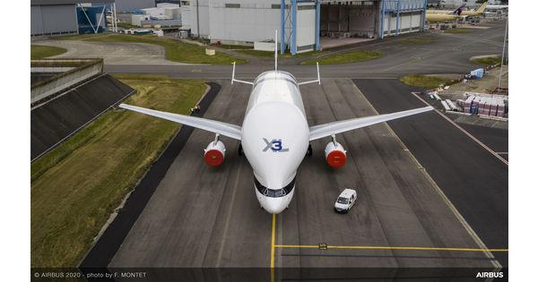[L'image du jour] Airbus met en service son troisième avion-cargo, le Beluga XL3