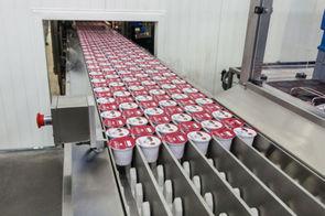 Fabrication du yaourt en usine