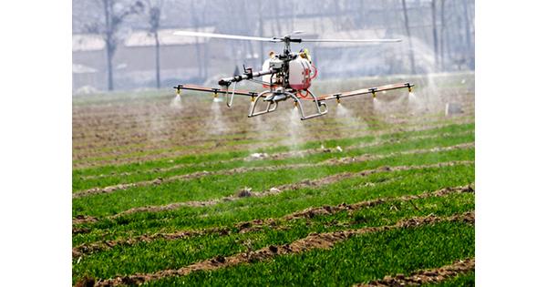 Pour ses phytos, l'agriculture bio et HVE se met aux drones