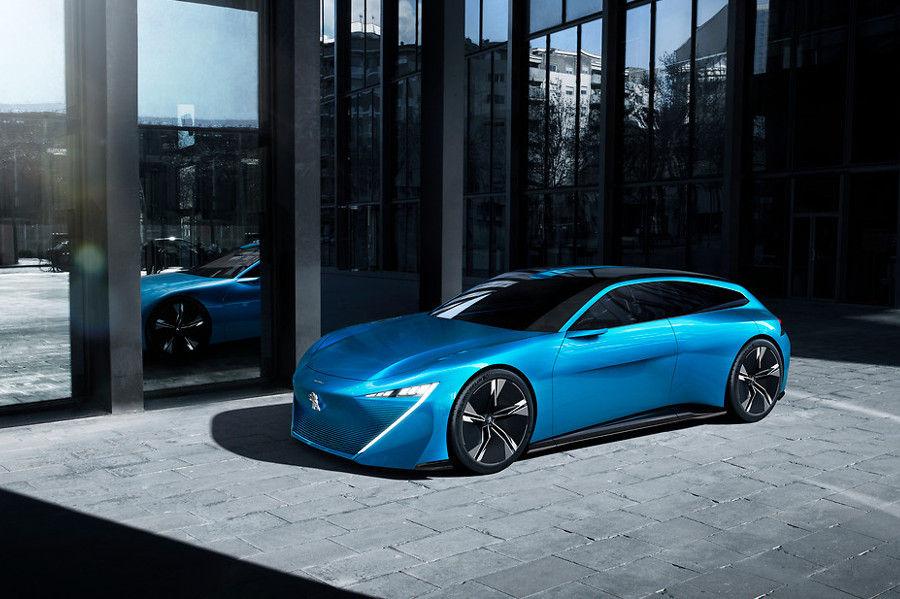 Gen ve 2017 avec son concept car instinct et l for Offre d emploi salon de l auto geneve